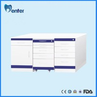 Stainless Steel Hospital Furniture Combine Dental Cabinet