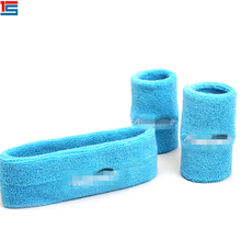 Sports cotton elastic upper arm sweatband