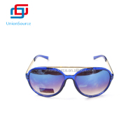 Wholesale High Quality Blue Fashion PC Sunglasses