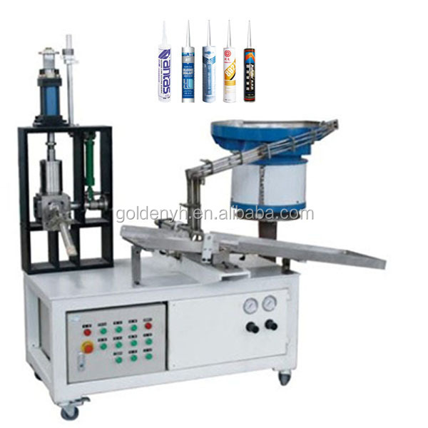 silicone sealant Semi-Automatic Cartridge Filling machine