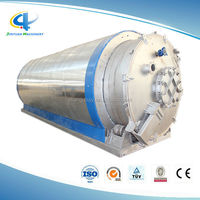 Tyre Retreading Plant for Sale Scrap Tyre Recycling Plant Waste Plastic Pyrolysis Oil Refining System
