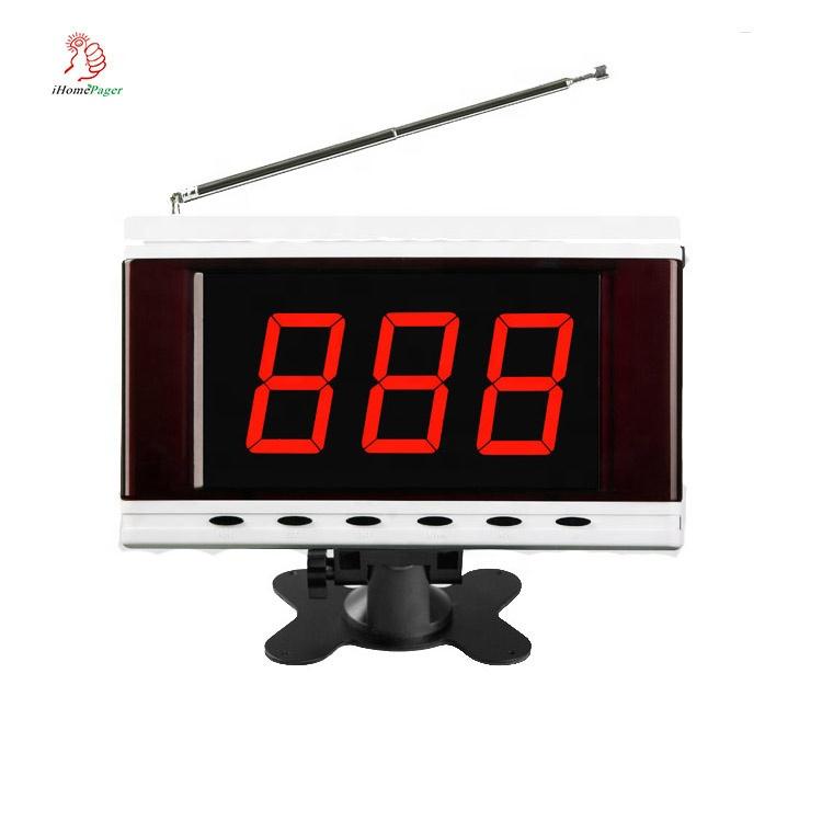 3 chiffres numéro d'appel affichant réception d'écran sans fil de signal de boutons d'appel - ANKUX Tech Co., Ltd