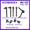 K5208 K6145 K6187 Ball Joint For
