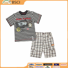 Wholesale Children Boutique Clothing Little Boys Floral Shorts Outfits Remake Clothing Sets