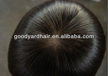 Natural Hairline Women Toupee Hairpiece