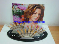 acrylic cosmetic display rack for 18pcs of lip balm