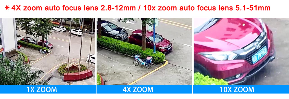 IP PTZ Bullet Camera 1080P Full HD Pan 160 Degree 10X Optical Zoom IP66 Waterproof 30m IR Night Vision POE IP Cam IPPTZ911-2.0MP
