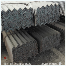 hot rolled unequal Mild steel angle/equal angle steel/Iron beams prices