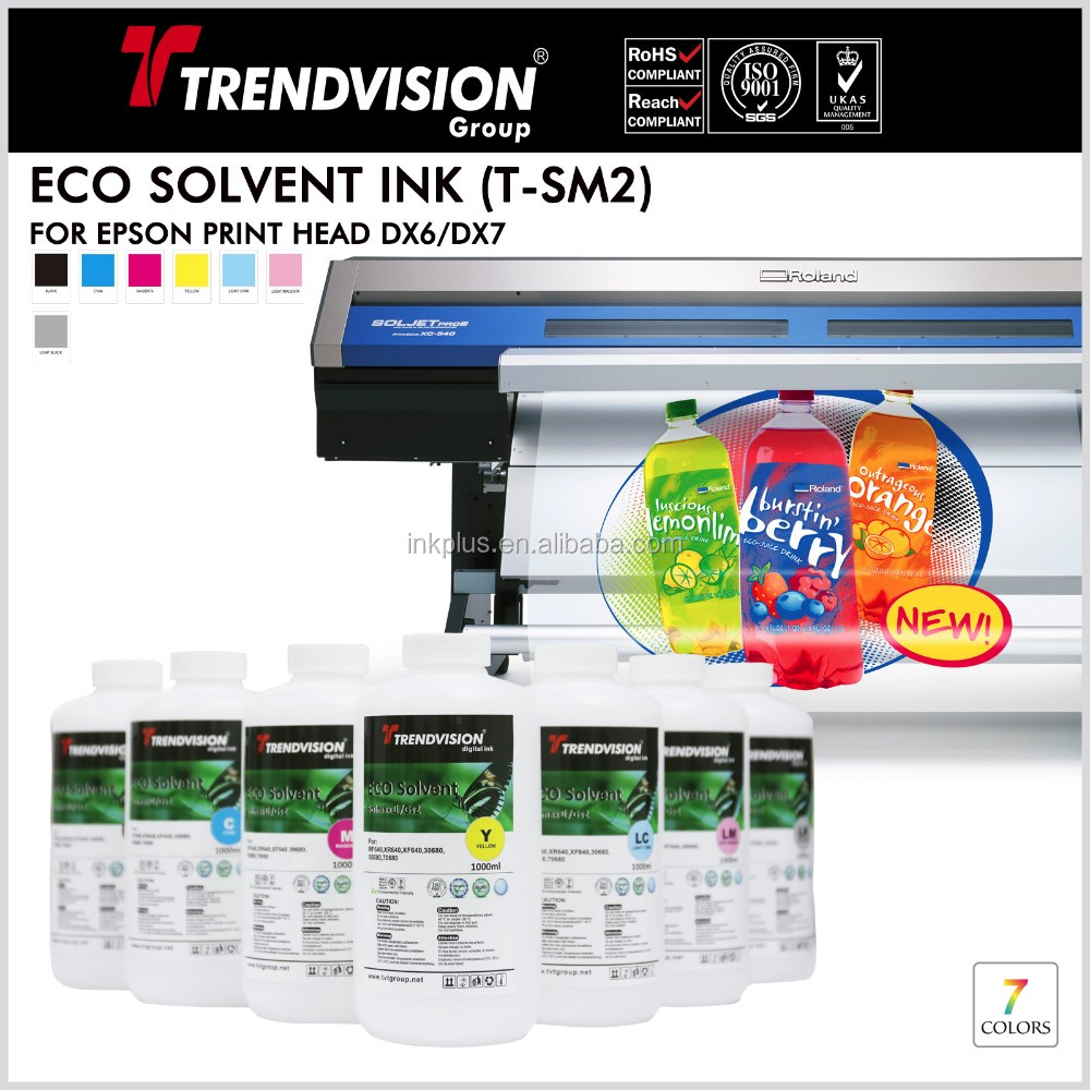 digital printing eco solvent ink products for all piezo head printers