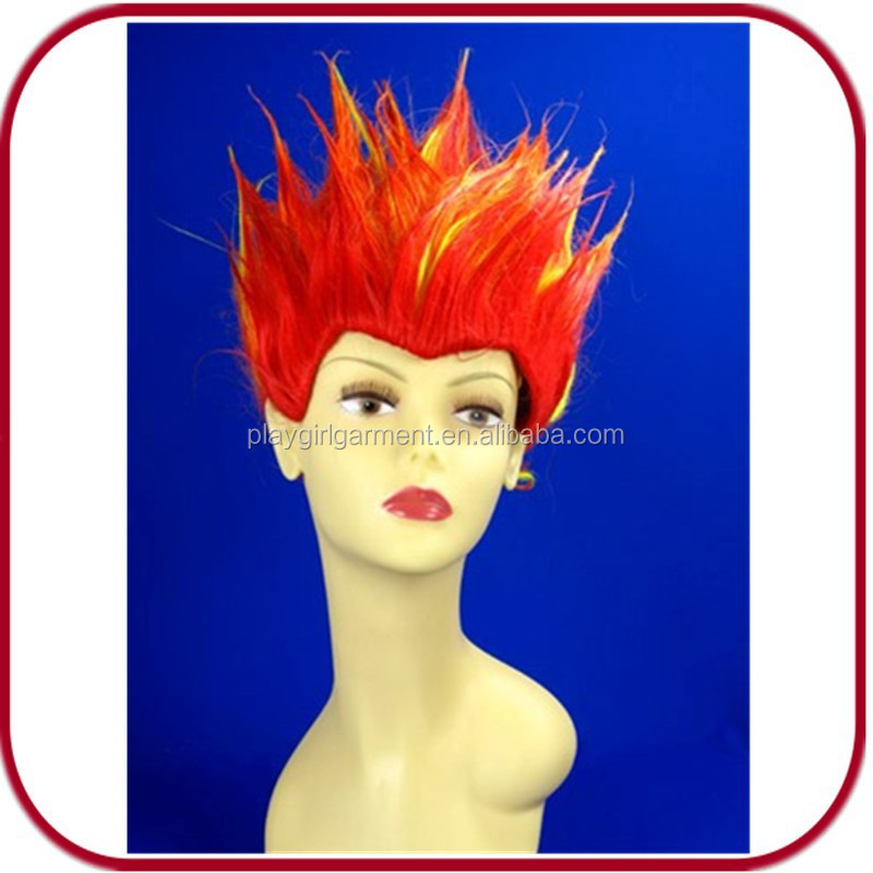 short hair football fan wig Synthetic Wigs PGW-1864