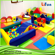 indoor foam play area rocking horse park design