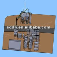 Crude Oil Recycling Distillation Machine With