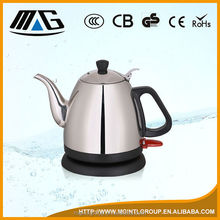 l.2 L 304 # stainless steel electric kettle with inwall mark