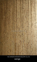 high grade natural wenge olive wood veneer sheet for decorative wall hotel furniture thin plywood face skin
