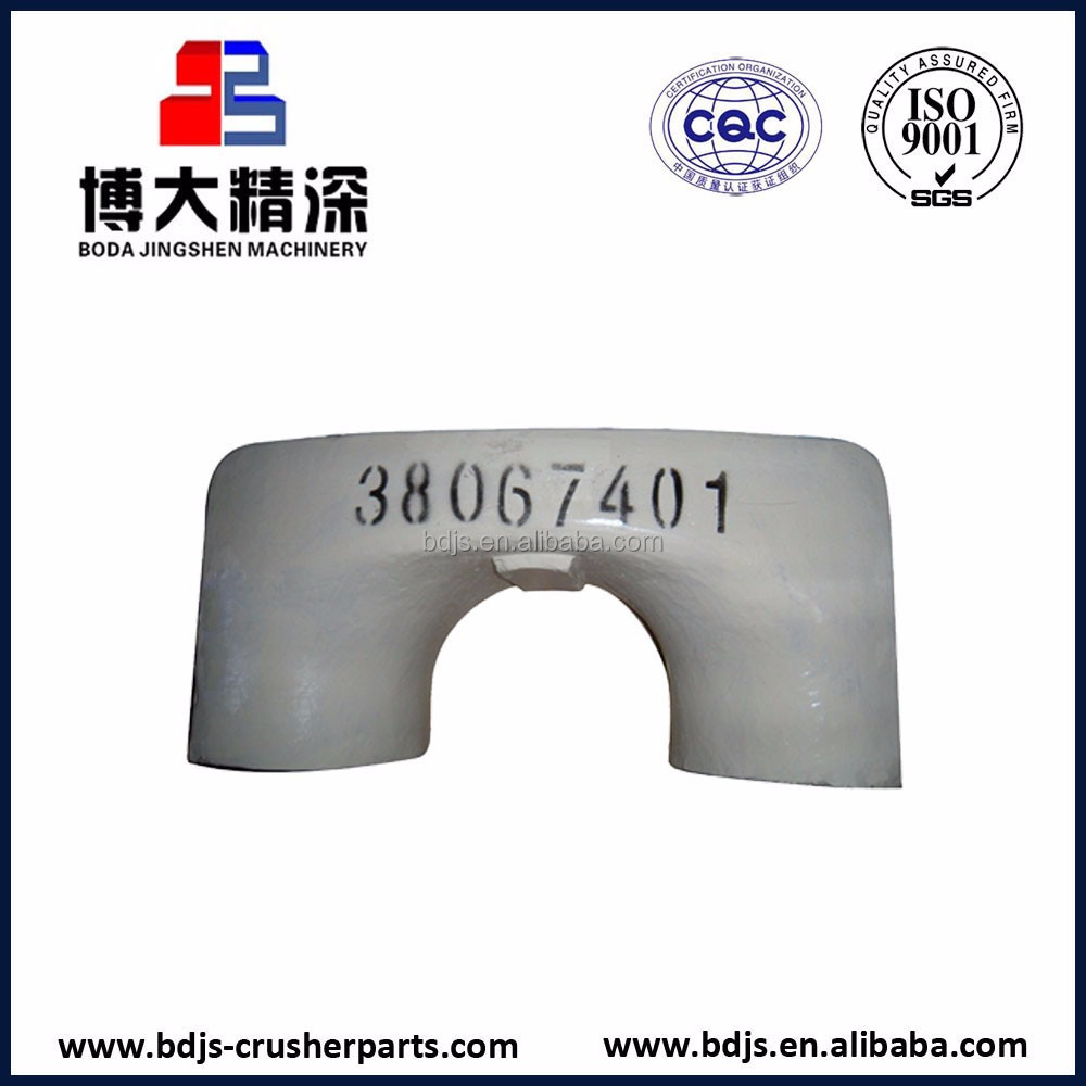 hp4 arm guard of crusher spare parts china supplier adapt to Metso