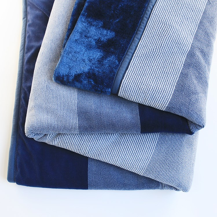 4-layer knitted soft thick thermal muslin blanket