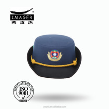 Chic Customized Fabric Vice Captain Uniform Hat for Women