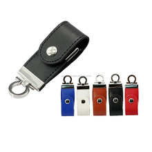 Hot sale Genuine Capacity Keychain Leather USB 2.0 flash drive 4G 8G 16G 32G 64G memory stick creative gift pen drive thumb