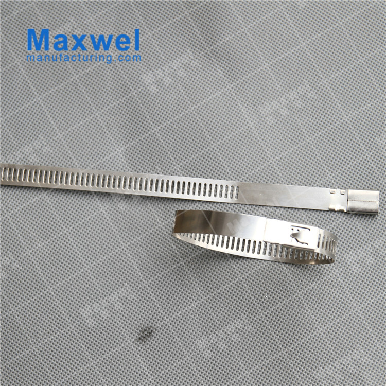 PVC coated 316 stainless steel cable tie