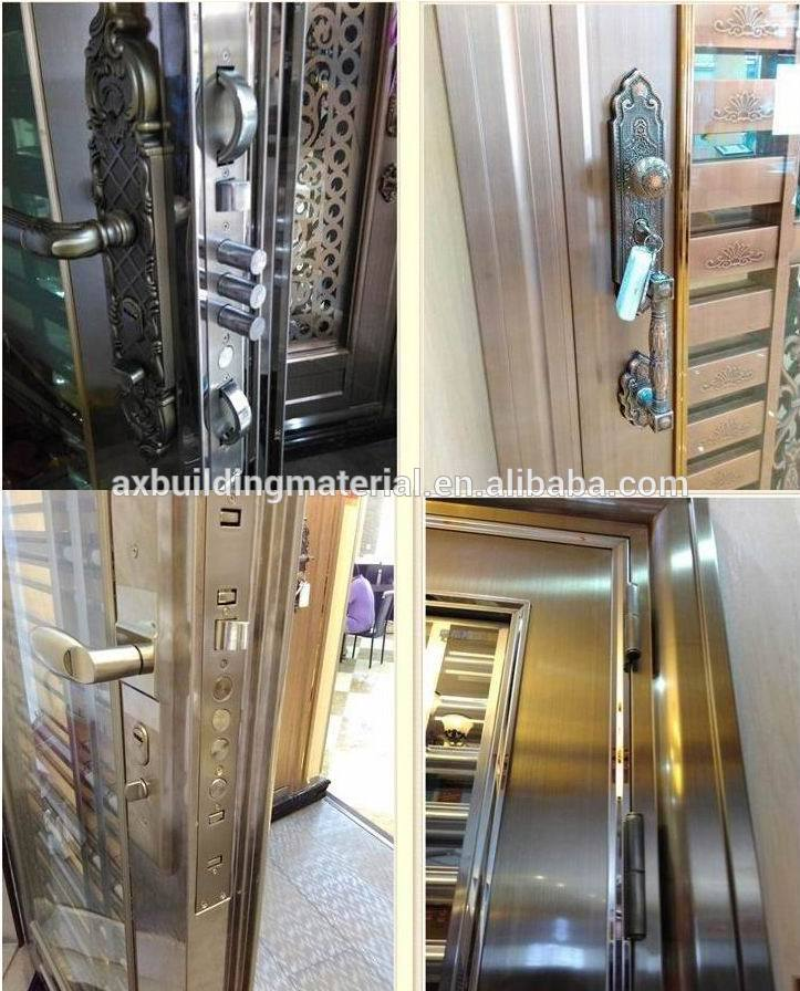 Wonderful Design European Stainless Steel Glass Door
