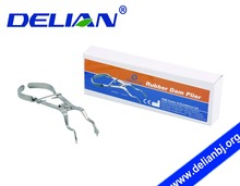 Delian Dental Rubber Dam Plier Rubber Dam Punch Plier Rubber Dam Instruments