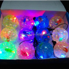 EmazingLights eLite Flow Rave Poi Balls - Spinning LED Light Toy