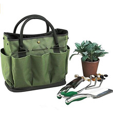 Top Supplier New Arrival Picnic gardening tote with tool set fabric shopping bag