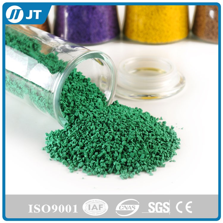 Customized colored EPDM granules, rubber flooring, EPDM rubber granules plastic scrap