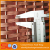 Metal mesh flat series XY-4215T stainless steel weave wire mesh bronze mesh