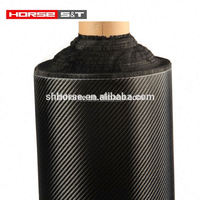 Carbon Fiber 3K 2/2 Twill Woven Fabric 200g/m2 0.28mm Thick 5 counts/cm Carbon Yarn Weave Cloth for Car Parts Sport Equipments