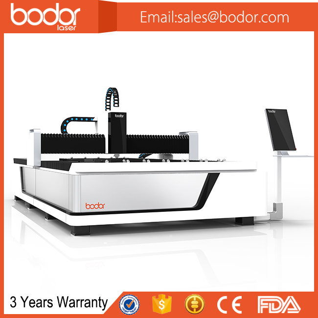 Bodor BIG SALE Metal Sheet Fiber Laser Cutting Machine with 1 year's free consumables supply and 3 years warranty