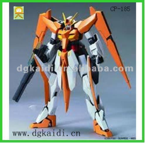 Hot sale 3d Plastic Gundam action figure toys