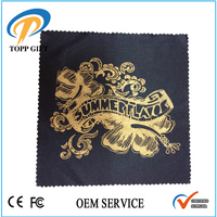 Custom printed microfiber cloth in bulk, microfibre cleaning cloth