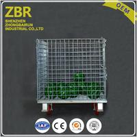 Collapsible Pet Bottle Preform Foldable China Cages Wire Mech Container