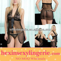 wholesale 2013 black thin one piece lingerie manufacturer