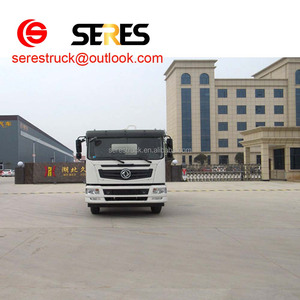 dongfeng153 vacuum suction sewage truck For Sale