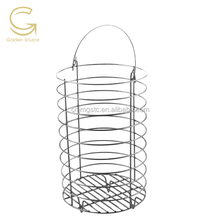 Metal wire storage basket/Collection basket/ hanging storage wire baskets