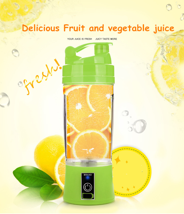Good Rechargeable Juicer Cup Portable Juice