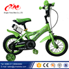 Green color children sport bicycles 12 bike / popular new style kids bike for 3 5 years old / cheap mother and baby push bike