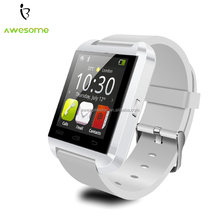 New U8 Bluetooth Smartwatch Smart Watch Wristwatch Long Battery Life Phone for Samsung Huawei Android Smart Cell Phones