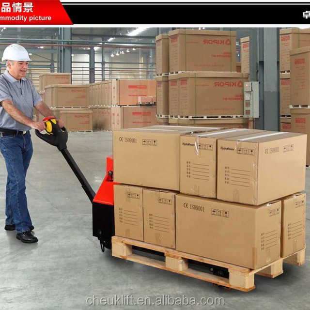 DC motor power Pallet Truck LPT13-E made in China