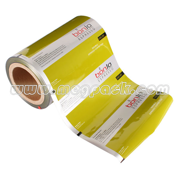 Food Grade Fresh Coffee Lanminating Roll Film Stock