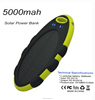 Solar Power Bank Waterproof Solar Charger 5000mah Cute Shape Sporty Power Bank