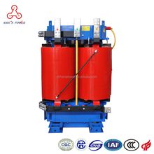 Energy saving Dual winding three phase Triangle Anti Explosion 33kv 22kv 11kv 1500kva 1600 kva dry type cast resin transformer