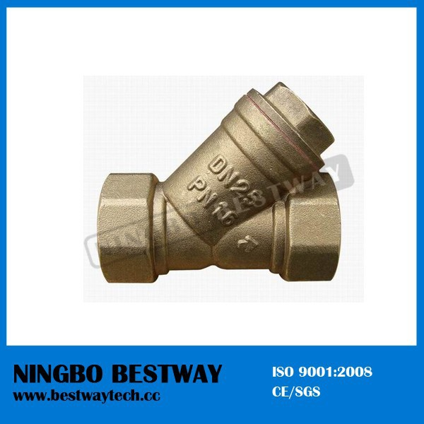 Brass y strainer check valve buy