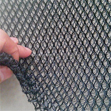polyester warp knitted black sandwich spacer 3D air mesh fabric for motorcycle seat cover