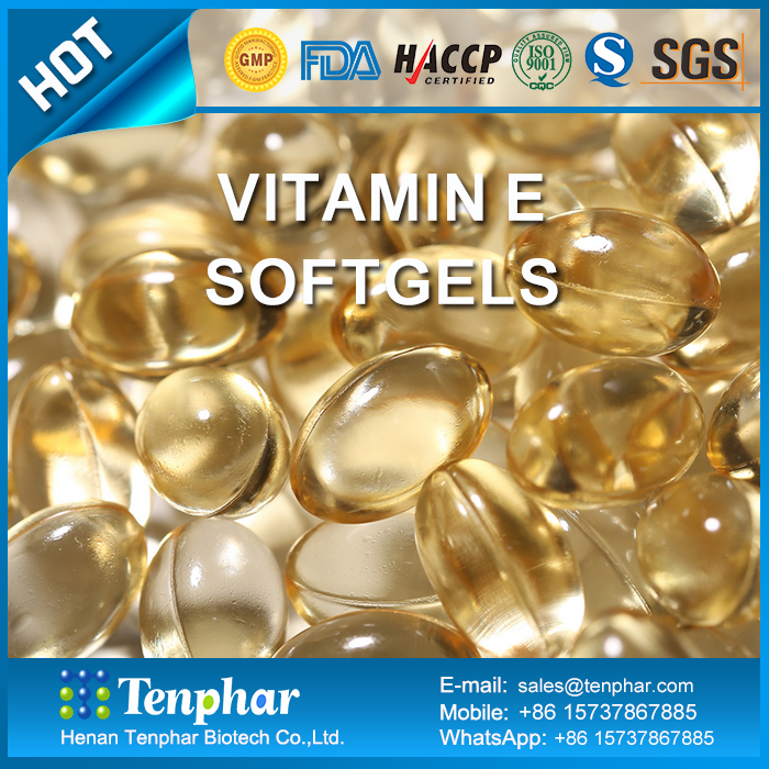 High Content Skin Whitening 400 IU For Face Vitamin E Oil Capsules
