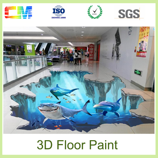 Hot sale 3D floor painting transparent clear liquid epoxy resin