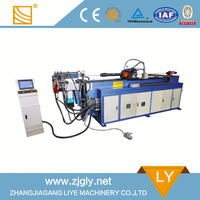 DW38CNCx3A-2S Support customized 4 KW electric hydraulic pipe bender