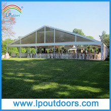 Outdoor large aluminum glass wall wedding marquee party tent for event